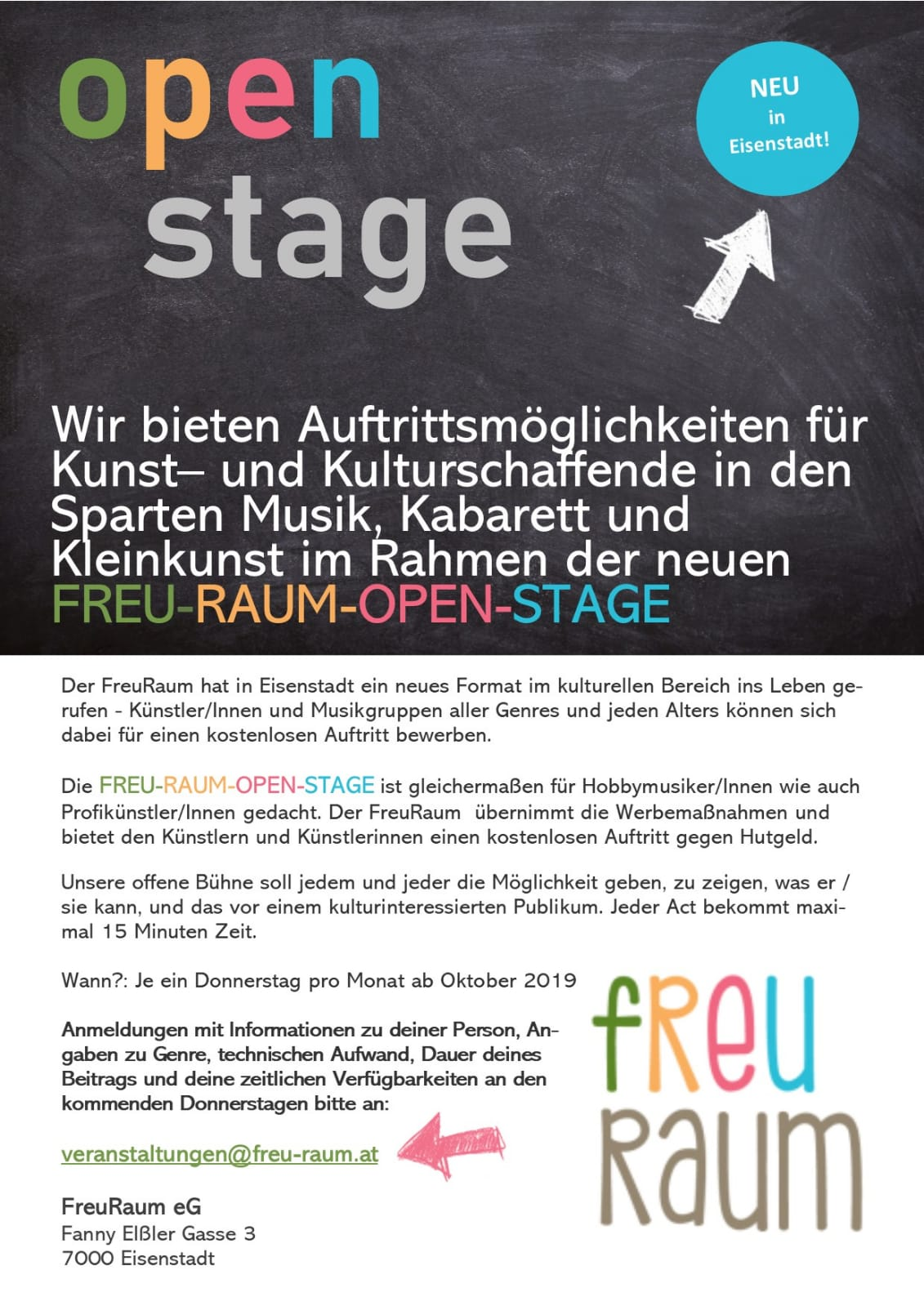 Open Stage Freuraum